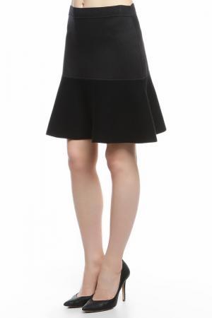 Юбка Balenciaga. Цвет: черный