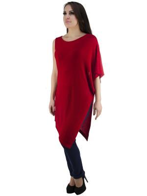 Блузка OROBLU. Цвет: красный