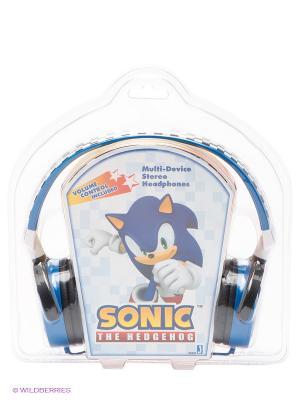 Наушники Соник Headphones. Sonic. Цвет: синий