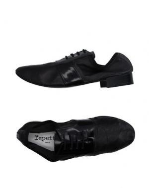 Обувь на шнурках REPETTO. Цвет: черный