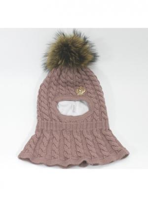 Шапка-шлем Briollini. Цвет: темно-бежевый