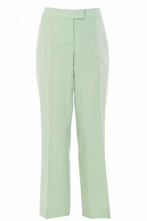 Расклешённые брюки moschino cheap&chic. Цвет: зеленый