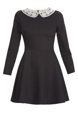 Flashin Платье из вискозы 176555 Flashin'. Цвет: черный