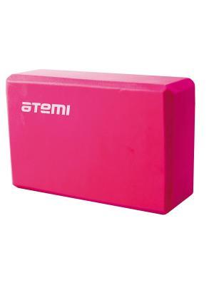 Блок для йоги (розовый) Atemi, AYB-01 p Atemi. Цвет: розовый