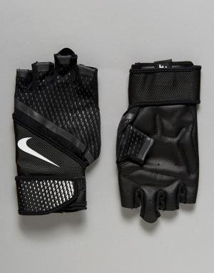 Nike Training Черные перчатки Destroyer LG.B4-031. Цвет: черный