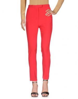 Повседневные брюки NORA BARTH. Цвет: кирпично-красный