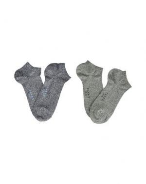 Короткие носки FALKE. Цвет: зеленый-милитари