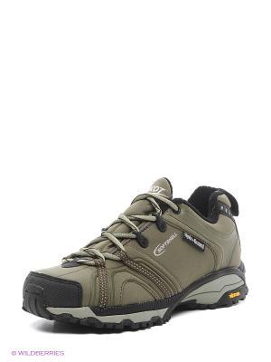 Мембранная обувь Ascot. Цвет: оливковый
