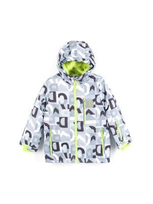 Куртка Coccodrillo. Цвет: черный,серый,салатовый,белый