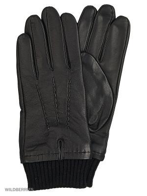 Перчатки мужские с эффектом Touch Screen Marco Bonne`. Цвет: черный