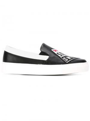 Кеды Vision Street Wear x Swear. Цвет: чёрный