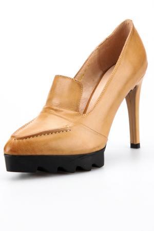 Туфли Rosa rot. Цвет: коричневый