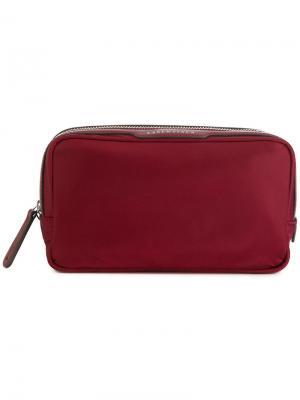 Маленькая косметичка Essentials Anya Hindmarch. Цвет: красный