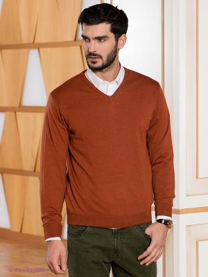 Пуловер Baumler. Цвет: терракотовый