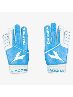 Перчатки DIADORA. Цвет: синий, белый