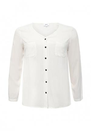 Блуза Zizzi. Цвет: белый