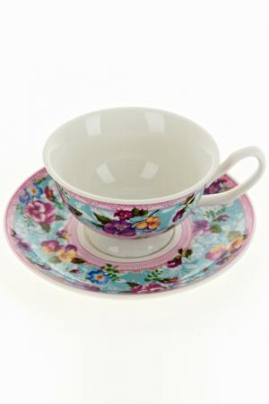 Чайный набор 2пр, 180 мл Nouvelle. Цвет: мульти