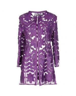 Легкое пальто CABAN ROMANTIC. Цвет: фиолетовый