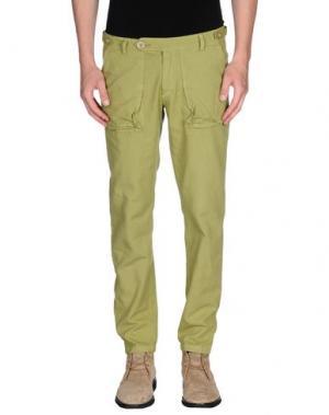 Повседневные брюки MOLO ELEVEN. Цвет: светло-зеленый