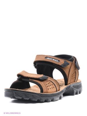 Сандалии Best Walk. Цвет: коричневый
