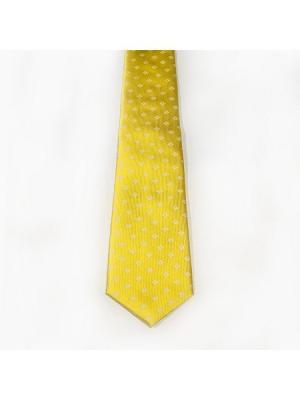 Галстук мужской btc. Цвет: желтый