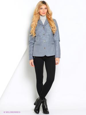 Куртка КАЛIНКА. Цвет: серый