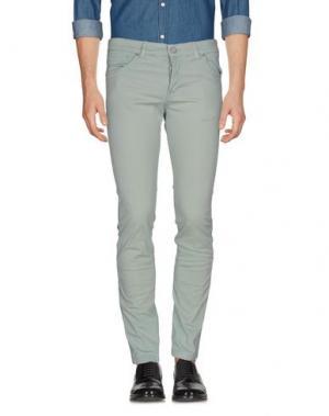 Повседневные брюки MICHAEL COAL. Цвет: светло-зеленый