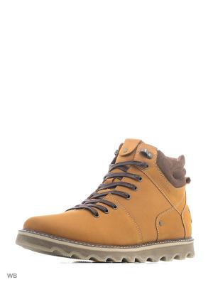 Ботинки Calipso. Цвет: желтый