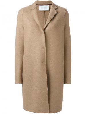 Классическое пальто Harris Wharf London. Цвет: телесный