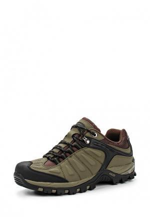 Ботинки трекинговые Ascot. Цвет: хаки