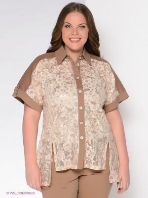 Блузка Giani F. Цвет: кремовый, бежевый