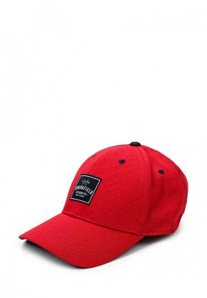 Бейсболка Springfield. Цвет: красный