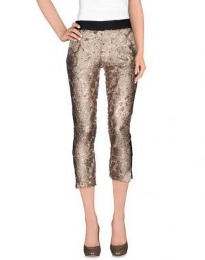 Повседневные брюки NINEMINUTES. Цвет: бежевый