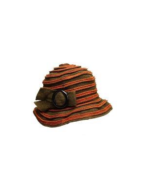 Шляпа Venera. Цвет: оливковый