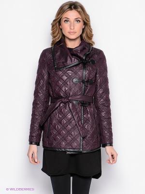 Куртка Yulia Dushina. Цвет: сливовый