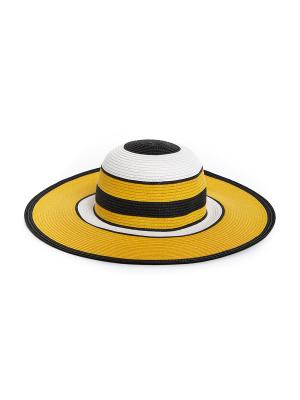 Шляпа Moltini. Цвет: желтый