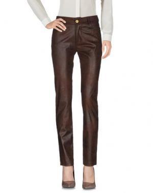 Повседневные брюки ALFONSO RAY. Цвет: темно-коричневый