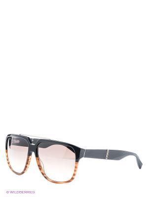 Солнцезащитные очки Baldinini. Цвет: темно-коричневый