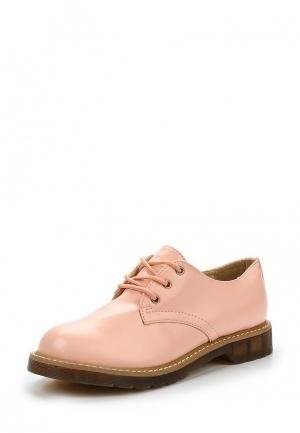 Ботинки Martin Pescatore. Цвет: розовый