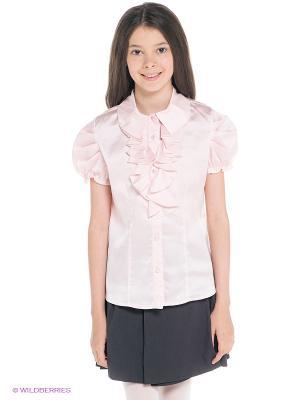 Блузка SILVER SPOON. Цвет: бледно-розовый