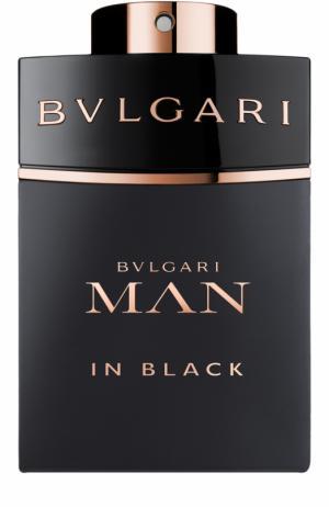 Парфюмерная вода Bvlgari Man In Black. Цвет: бесцветный