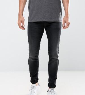 Only & Sons Выбеленные черные джинсы скинни. Цвет: бежевый