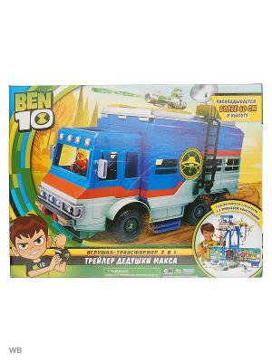 Ben 10 Игровой набор Трейлер-трансформер. Цвет: синий