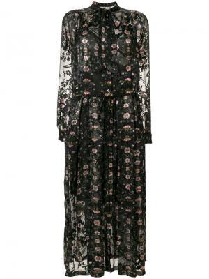 Платье Abram Preen By Thornton Bregazzi. Цвет: чёрный