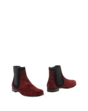 Полусапоги и высокие ботинки ROGER VIVIER. Цвет: красно-коричневый