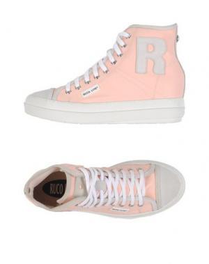 Высокие кеды и кроссовки RUCO LINE. Цвет: розовый