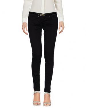 Повседневные брюки ELISABETTA FRANCHI JEANS. Цвет: черный