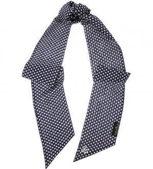 Синий хлопковый платок FRAAS. Цвет: синий