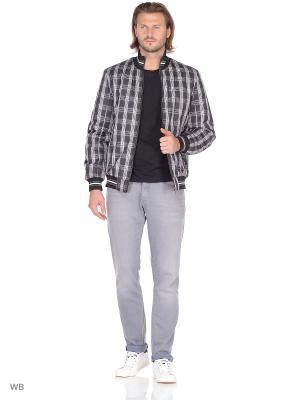 Куртка ABSOLUTEX. Цвет: черный, белый