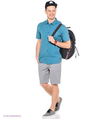 Рубашка DC Shoes. Цвет: морская волна
